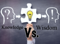 Knowledge vs wisdom